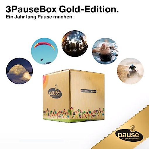 Ein Jahr Pause gewinnen: mit 3PauseBox Gold-Edition