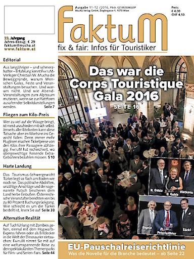 FaktuM 11-12/2016: Corps Touristique-Gala