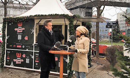 """W24 und der Verein """"Wider die Gewalt"""" eröffnen gemeinsam einen Charity-Weihnachtsstand"""