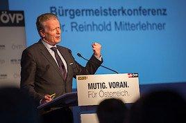 Mitterlehner eröffnet erste ÖVP Bürgermeister-Konferenz: Nur gemeinsam sind wir stark und erfolgreich