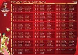 Spielplan der FIVB Beach Volleyball WM presented by A1: Top-Duelle gleich zum Auftakt!