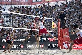 FIVB Beach Volleyball WM presented by A1: Donnerstag ist Österreicher-Tag!