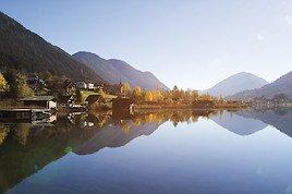 Sportlich unterwegs am Weissensee: im Herbst aktiv entschleunigen!