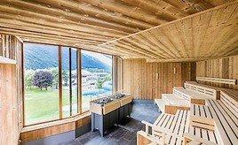 Optimale Erholung in der Saunalandschaft von KLAFS im neuen Telfer Bad