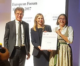 EUREGIO-Sonderpreis für MCI