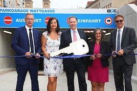 Mehr Parkplätze für Ottakring: Tiefgarage Wattgasse eröffnet