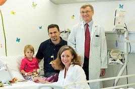 Das St. Anna Kinderspital feiert den Gründungstag vor 180 Jahren