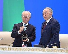 Erstes internationales Depot für niedrig angereichertes Uran in Kasachstan eröffnet