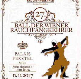 Wiener Ballsaison startet mit Rauchfangkehrer-Ball – 27. Rauchfangkehrer-Ball am 17.11.2017 im Palais Ferstel