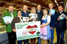 """""""Österreich isst frei"""": NÖ Bauernbund informierte 38.000 Kundinnen und Kunden"""