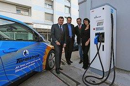 Zukunft Elektromobilität: DOPPLER Gruppe beginnt Rollout von Schnellladeeinrichtungen