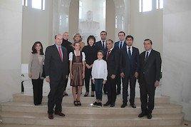 Chiara Thaler bei Botschaftertreffen in Aserbaidschan