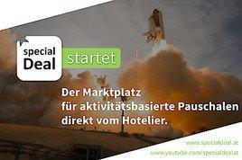 special Deal startet – Der Marktplatz für Pauschalen direkt vom Hotelier
