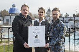 GOLD für das Rogner Bad Blumau beim Thermencheck.com Award!