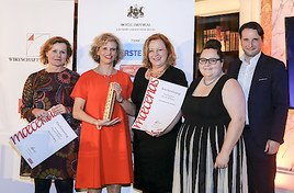 Generaldirektorin Sabine Haag erhält den MAECENAS Preis 2017
