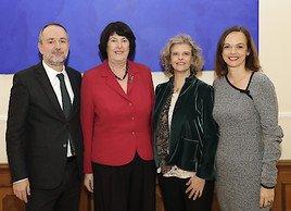 Hammerschmid und Drozda gratulieren Sabine Haag zur Wahl als Präsidentin der Österreichischen UNESCO-Kommission