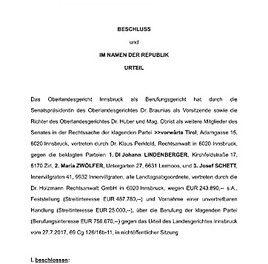Tiroler Landtag vor Verfassungsbruch und Amigowirtschaft?