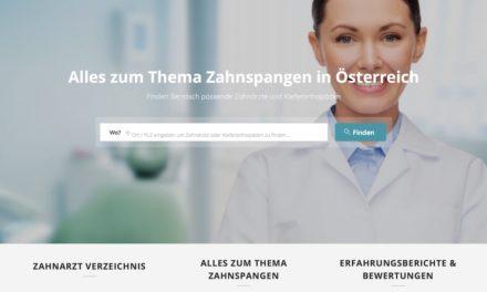 Zahnspangensuche.at das neue Portal für Zahnspangen in Österreich