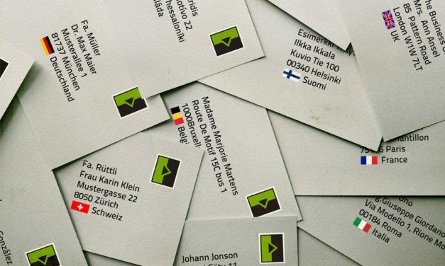 Postserver senkt Briefkosten ins Nachbarland