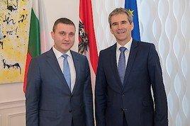 BMF: Finanzminister Löger empfängt Amtskollegen aus Bulgarien und Estland