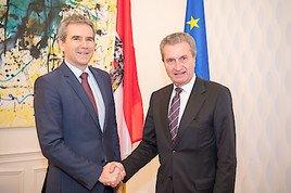 Finanzminister Löger gegen einseitige Mehrbelastung für Nettozahler