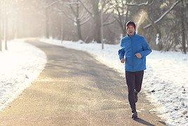 Der Kälte zum Trotz: Sport treiben im Winter