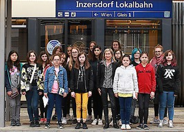 Wiener Töchtertag: Mädchen-Power für die Badner Bahn