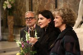 Kunsthistorisches Museum Wien – Marina Abramović wurde mit dem GLOBART AWARD 2018 geehrt
