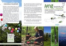"""Naturbestattung GmbH . Zadrobilek: Neuer """"Wald der Ewigkeit"""" in Bisamberg/Klein-Engersdorf (NÖ)"""