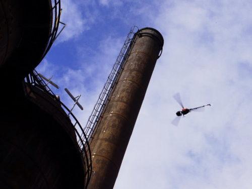 Aero Enterprise inspiziert Industrieanlagen für voestalpine