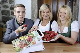 Heimische Erdbeeren vom Bauernhof einfach per Mausklick finden