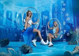 A dream comes true: Pahde-Zwillinge am 16. Jänner 2019 mit Holiday on Ice-Erfolgs-Show ATLANTIS in der Wiener Stadthalle