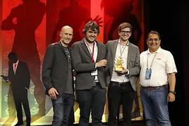 MCI Technologie gewinnt mit HOLO-LIGHT prestigeträchtigen Auggie Award auf globaler VR-Konferenz im Silicon Valley
