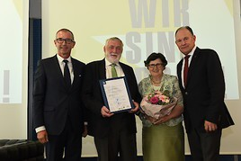 MCI-Ehrenprofessur für Franz Fischler