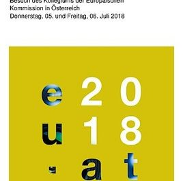 Medienprogramm: Besuch des Kollegiums der Europäischen Kommission in Österreich