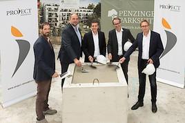 PROJECT Immobilien Wien legt Grundstein für Penzinger Parksuites