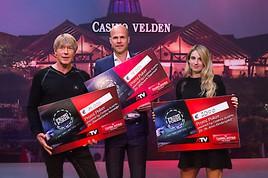 """Johnny Ertl, Dominic Heinzl und Anna Gasser staubten bei """"Promi Poker powered by Casinos Austria"""" auf ATV ab"""