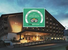 Bestnoten für Löwen Hotel Montafon: Auszeichnung mit TripAdvisor Hall of Fame-Award