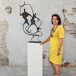 Bronzemetamorphosen der Bildhauerin Sabine Pelzmann im Rahmen der Salzkammergutfestwochen Gmunden