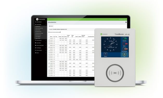 Timemaster mit neuer webbasierter Zeiterfassungssoftware