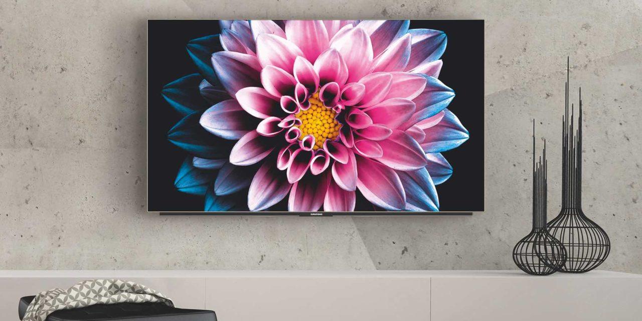 Ultrascharf und satte Farben: Die OLED und Nano UHD+ Highlight-TVs von Grundig mit Alexa Sprachsteuerung