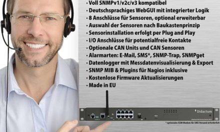 Überwachungssysteme für Rechenzentrum und Serverraum