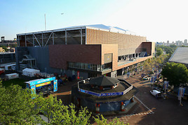 Fassade von Rieder für das neue USTA Louis Armstrong Stadium sowie das US-Open Box Office