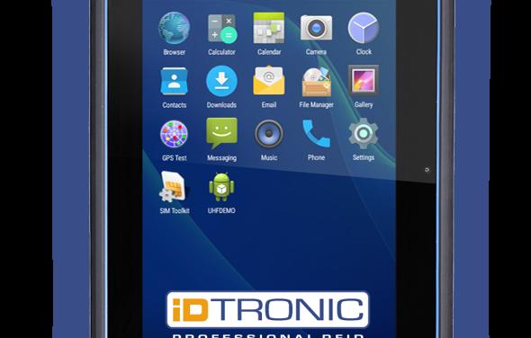 iDTRONICs C4 Tablet L – Leistungsstärke in großer Dimension: Mobile Datenerfassung leicht gemacht mit optionalem RFID- & Barcode-Leser