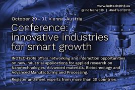 Schlüsseltechnologien für intelligentes Wachstum bei der INDTECH2018