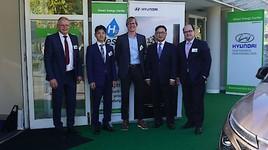 HyWest startet mit Hyundai NEXO Rollout im Green Energy Center Europe