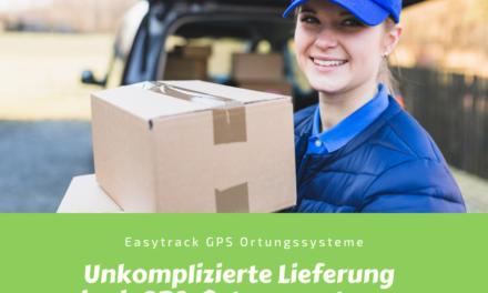Unkomplizierte Lieferung dank GPS-Systemen