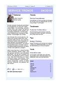 """""""Service mit professioneller Innovation"""" – Aktuelle Ausgabe des Newsletter SERVICE TRENDS jetzt erhältlich"""