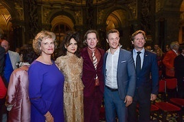 Wes Anderson und Juman Malouf eröffneten gestern Abend ihre Ausstellung im Kunsthistorischen Museum Wien