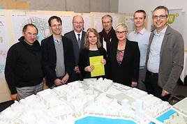 """""""Coup am See"""" in aspern Die Seestadt Wiens: Das Quartier """"Seeterrassen"""" wird die Waterfront am Nordufer"""